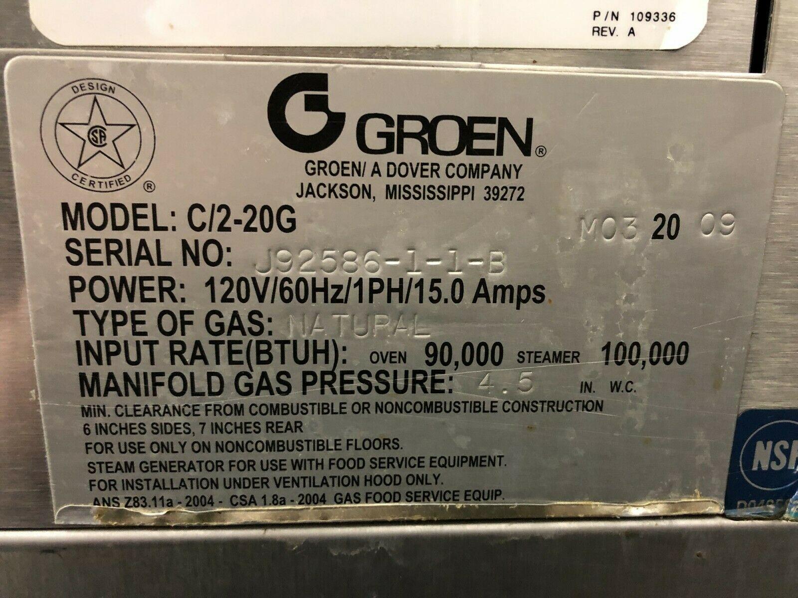 Pre-Owned Groen C/2-20G
