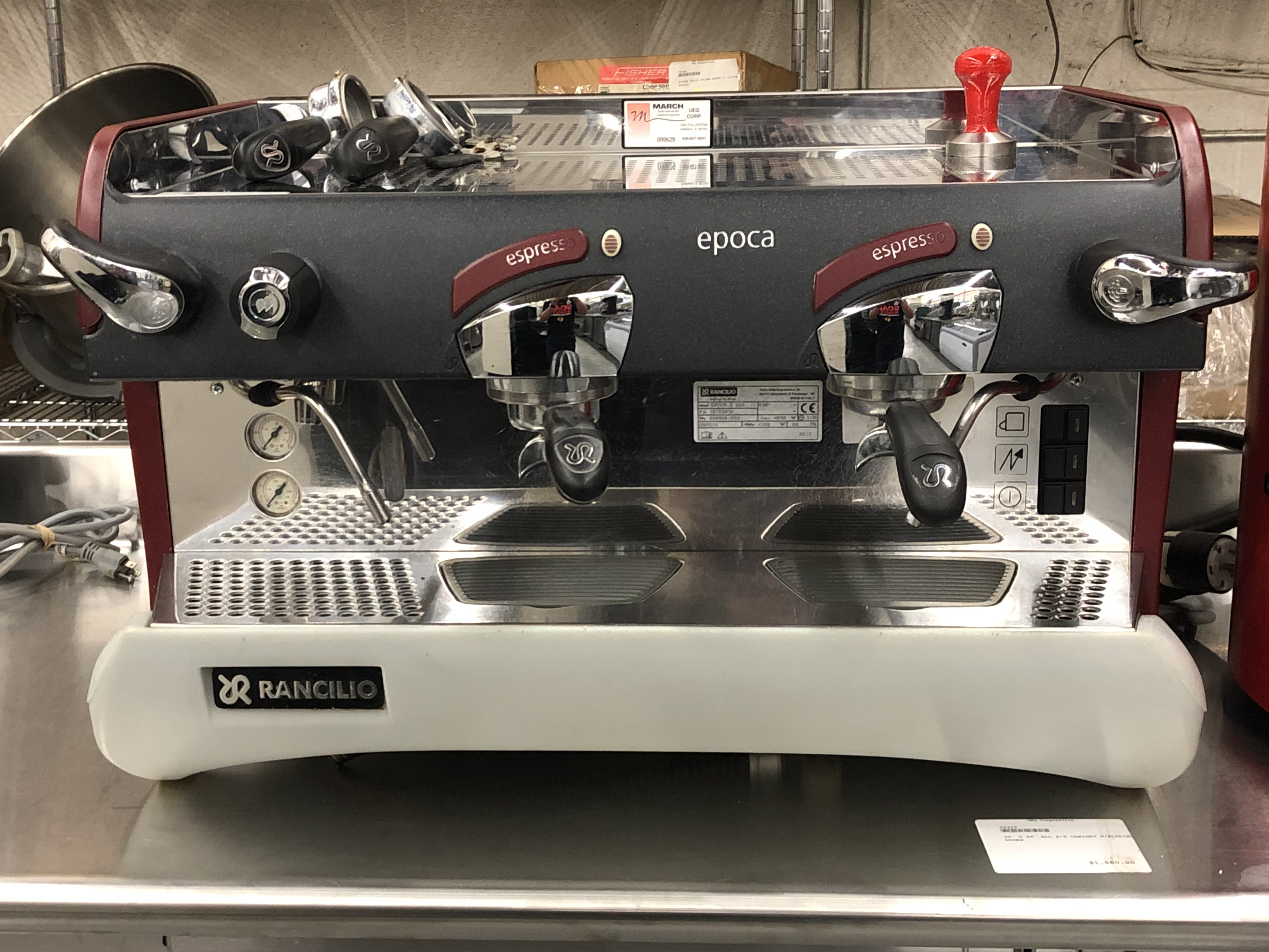 Pre-Owned Rancilio Epoca S 2GR